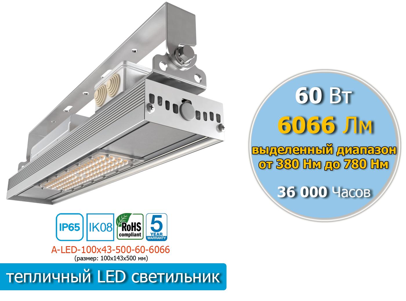 A-LED-100х43-1-500-80-8088
