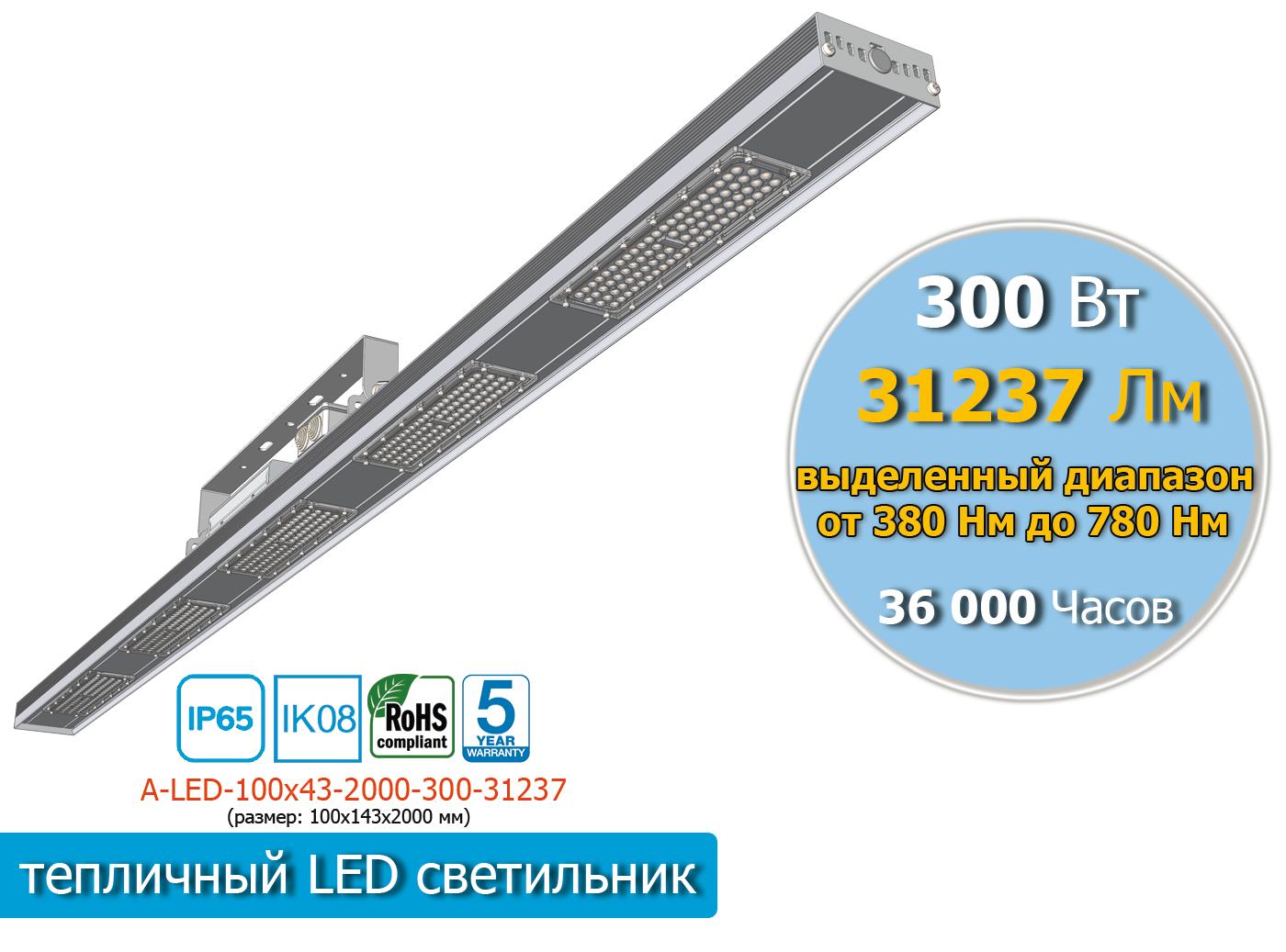 A-LED-100х43-1-2000-300-31237