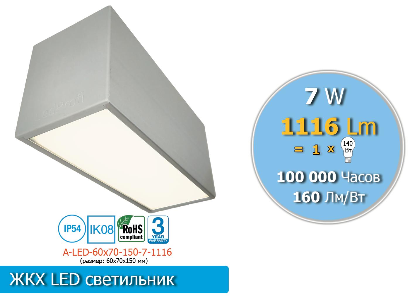 A-LED-60х70-150-7-1116